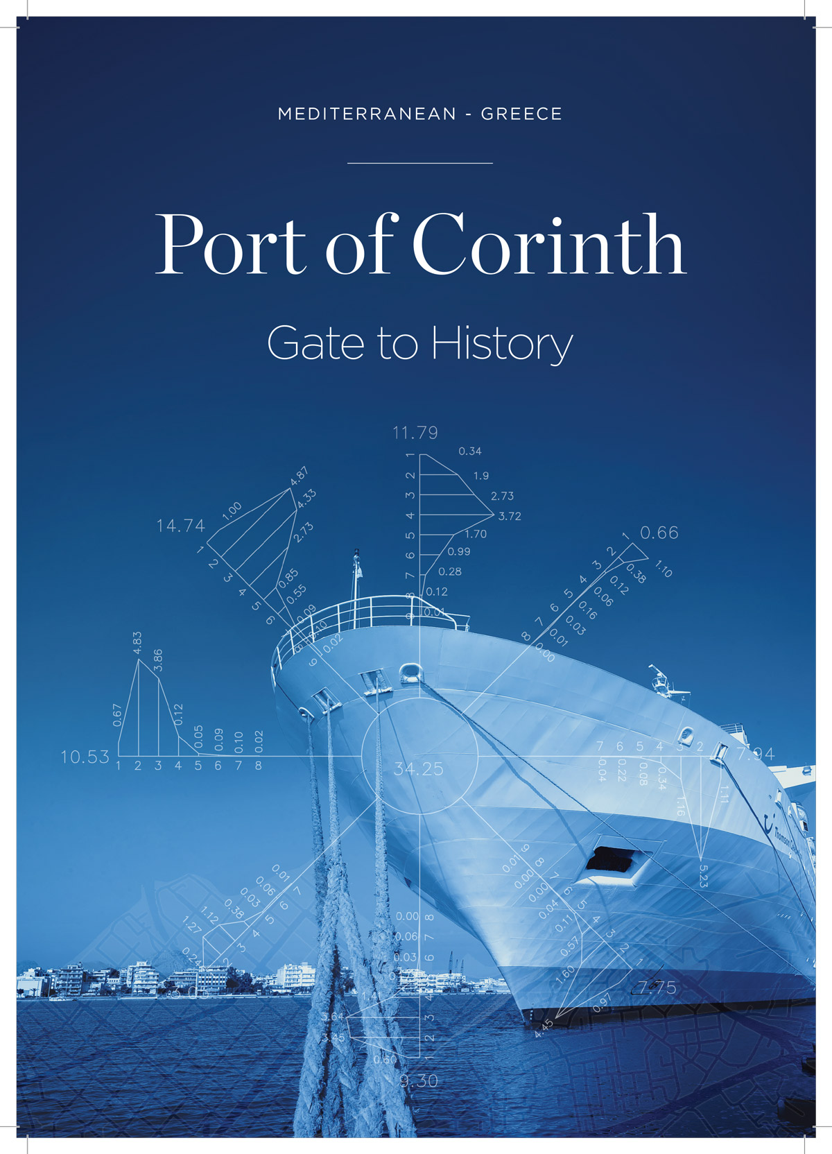 Branding Port of Corinth - Brochure
